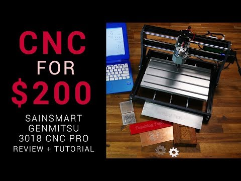 CNC router for $200 – Sainsmart Genmitsu 3018 Pro review andtutorial