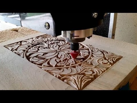 Fully Automatic CNC Carving Machine Wood, CNC Router MachiningWorking